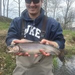 big brook trout fly fishing asheville