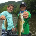 smallmouth fly fishing trip