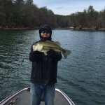 lake james bass fishing