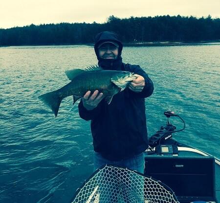 lake james smallmouth fishing