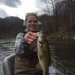 asheville smallmouth river fishing