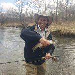 spring time fly fishing asheville