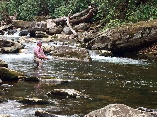 wild water fly fishing in asheville