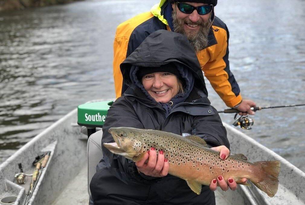 brown trout fishing north carolina