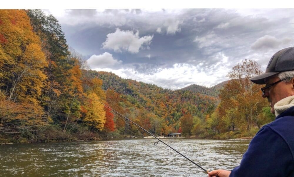 beautiful rivers we fish in north carolina