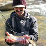 rainbow trout fishing wnc