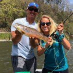 brown trout fishing guide asheville nc