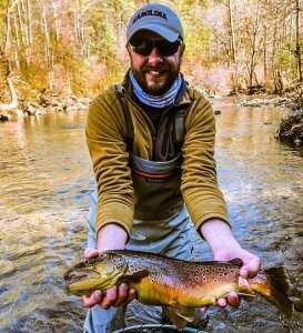 fly fishing trout guide asheville
