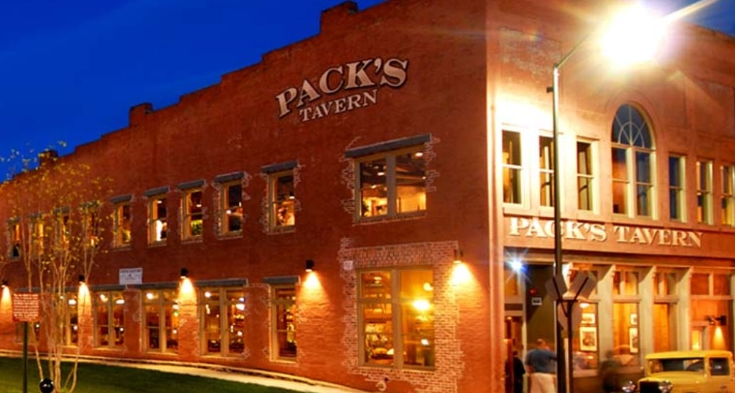 packs tavern asheville north carolina