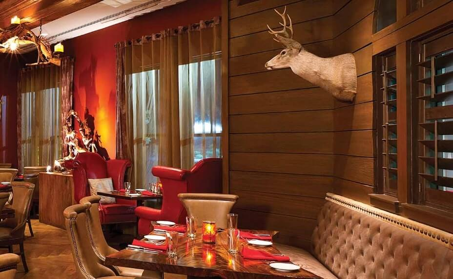 red stag grill in the grand bohemian