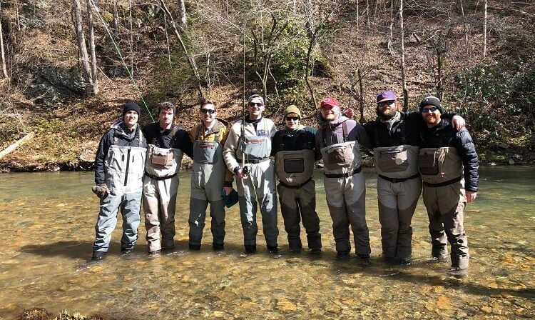 bachelor party fishing trips in asheville