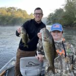 where to smallmouth fish in NC